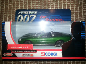 Corgi James Bond 007, Jaguar XKR, TY07601, Ultimate Collection, Die Another Day