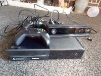 Microsoft Xbox 1 plus Kinect sensor