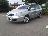 07 citroen c8 2.0 hdi 8 seater hpi clear