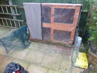 Guinea Pig Hutch plus Extras