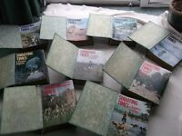 Old copies of Shooting Times Magazines in Binders Dated from 1971 to 1980