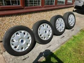 Transit connect wheels not alloys