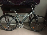 B'TWIN Original 520 - Grey/Blue - barely used - Langside