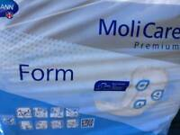 Hartmann Molicare extra plus 28pc packs incontinence pads