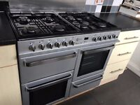 Range Dual Fuel Cooker - 8 Burners, 2 Ovens and Separate Grill (Great Condition)