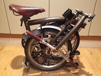 Brompton folding bike (Limited Edition)