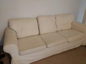 Ikea 3 seater Ektorp Sofa