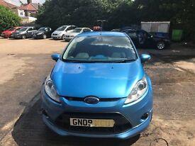 BLUE FIESTA S FOR SALE ,GOOD RUNNING CAR