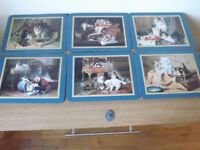 6 Jason Cat Table Mats