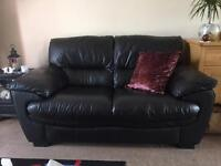 LEATHER TWO SETTER SOFA