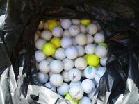 Bag of Used Golf Balls