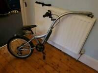 Bike trailer - tow bike