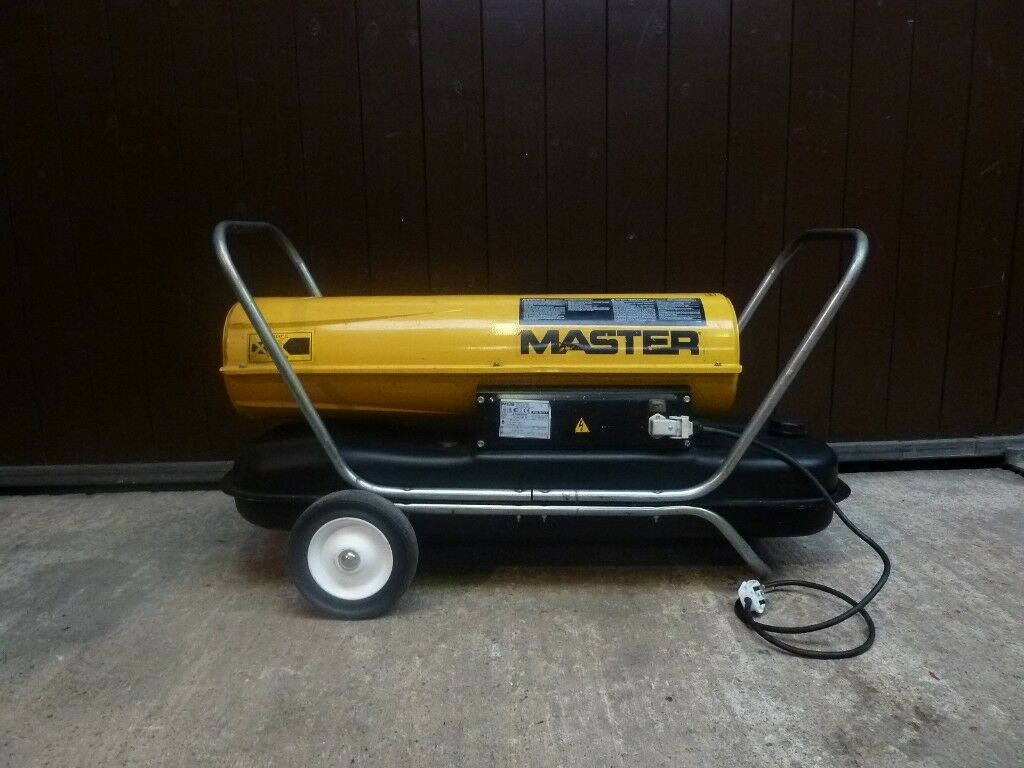 Master Portable Diesel / Kerosene Fired Space Heater Ideal ...