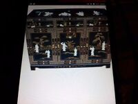 Laquerd oriental. Mother of pearl sideboard forsale
