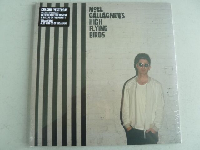 NOEL GALLAGHER - Chasing Yesterday **180g-Vinyl-LP + CD**NEW**sealed**Oasis**