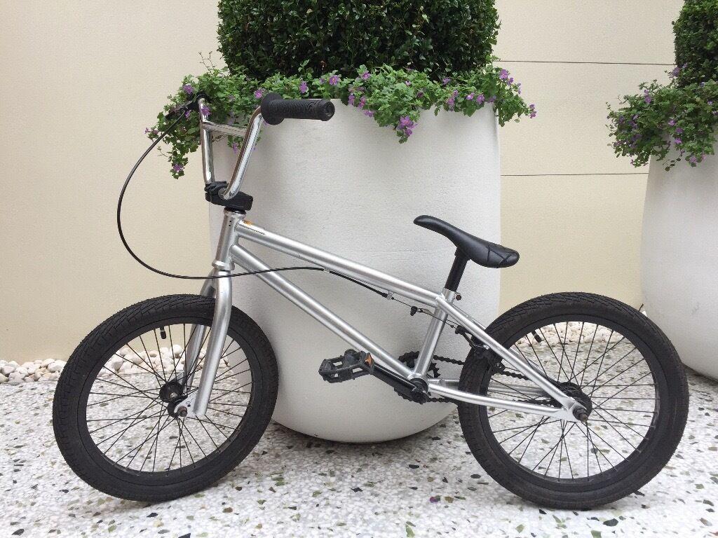 Bmx Bike Stereo Bike Co Woofer Bike In Silver 18 Wheel In