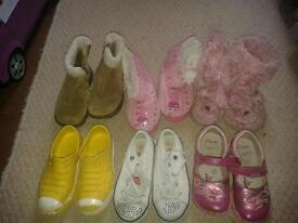 Shoes size 8 and more