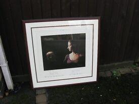 Curtis Hooper Print 'Ophelia'
