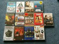 Various DVDs, some still sealed