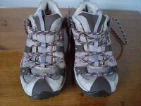 Merrell women's walking trainers size 37.