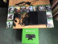Xbox one 500GB with 11 games for sale