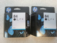 HP ink cartridges for Designjet poster printer - 6 colours
