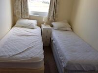 Single beds, double beds, bunk beds all with mattress