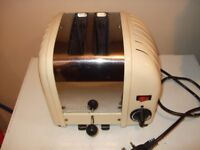 Dualit toaster needs new elements.