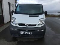 Vauxhall vivaro 1.9 DTI SWB Sold pending collection.