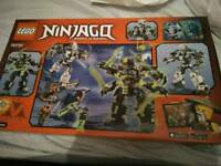 Lego titan mech battle