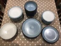 Blue Jetty Denby Set - 37 pieces