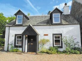 Christmas Holiday 7 day Self Catering Cottage in Strathyre, 200 year old, 2 bedroom - (1week) let