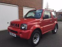 2002 02 Suzuki Jimny 1.3 4x4++FSH++Immaculate Condition+Low Miles TERIOS shogun pinin panda VITARA