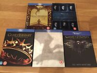 Game of Thrones - seasons 2 to 6