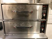 Hatco Two Drawer Warmer Model peri peri chicken - 2 drawer