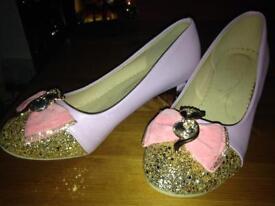 Gorgeous irregular choice style shoes