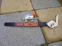 SNAKEMASTER STABILISER BAR AND ALL FITTINGS USED ONCE IT IS AS NEW CONDITION.