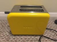 Kenwood kMix yellow toaster