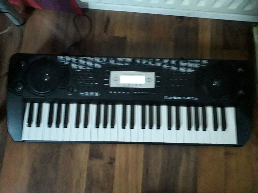 Childrens Electric Keyboard With Power Cable Excellent