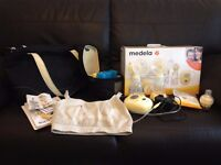 Medela Freestyle Double Hands free Breast pump with Calma Teat