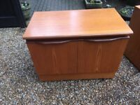 Solid Teak Sideboard Cupboards - 4 Available