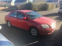 Toyota Avensis - 11 months MOT - spares or repairs -
