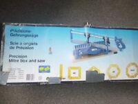 Precision Mitre Box and Saw