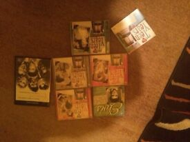 Teen years rock and roll cd and video collection.