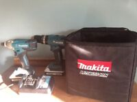 18V Li-ion makita hammer drill and impact driver