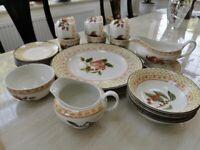 Fine porcelain tableware..