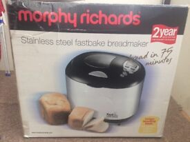 Bread maker barely used
