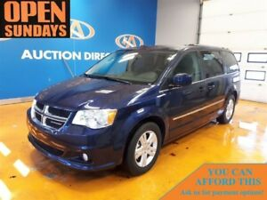 2017 Dodge Grand Caravan CREW PLUS! TV/DVD! NAVI! LEATHER!