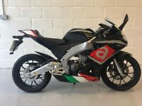 Aprilia RS4 125. Rare Superpole colours.