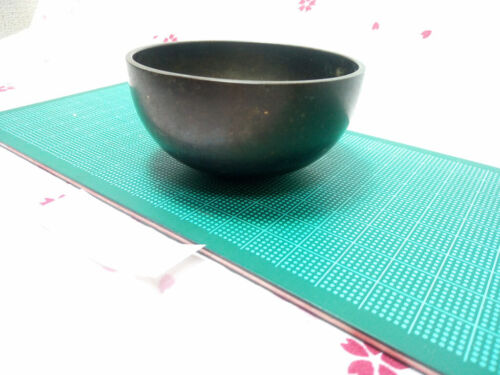 """2.776"""" Japanese Vintage Buddhist Bell Gong Rin G650 Gentle Tone"""